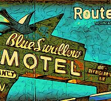 Motel Sign Route 66 by givemefive