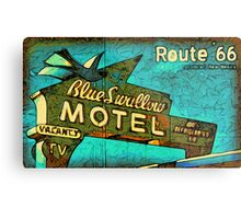 Motel Sign Route 66 Metal Print
