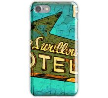 Motel Sign Route 66 iPhone Case/Skin