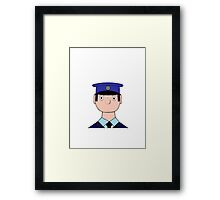 Peter the Postman Framed Print