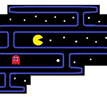 Pacman on the Brain by Aaron Miller