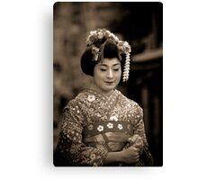 Le charme discret du Japon ancestral... Canvas Print