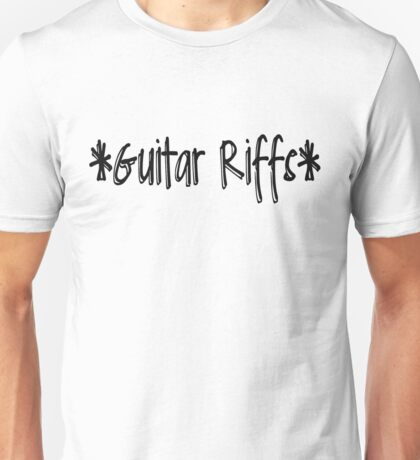 *Guitar Riffs* Unisex T-Shirt