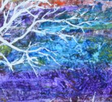 Abstract Landscape tree Sticker