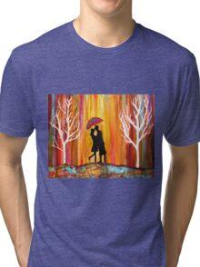 Romance in the Rain Tri-blend T-Shirt