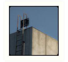 Melbourne's squares 11 Art Print