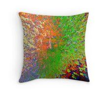 JC Chakra Rainbow Throw Pillow