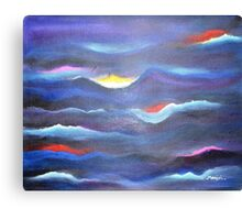 Dream Waves-Abstract Canvas Print