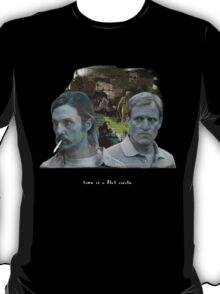 "True Detective - ""Time is a Flat Circle"" T-Shirt"