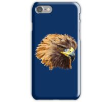 Golden Eagle (Blue) iPhone Case/Skin