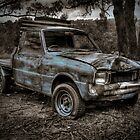 Blue Truck by James Cole
