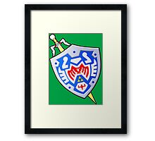 Hero's Shield and the Gilded Sword (From Majoras Mask) Framed Print