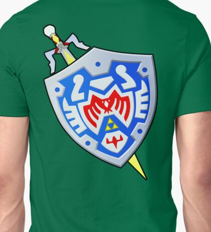 Hero's Shield and the Gilded Sword (From Majoras Mask) Unisex T-Shirt