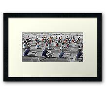 Colour of the River Framed Print
