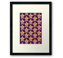 star paper Framed Print