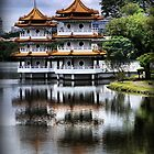 In the Garden of China (2) by Larry Lingard-Davis
