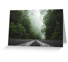 Misty Otway Forest Greeting Card