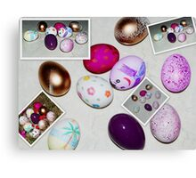 Easter eggs. Canvas Print