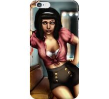 Pin Up Hairdresser iPhone Case/Skin