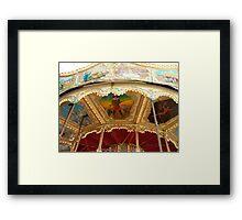 Carousel Artwork 2 Framed Print