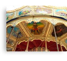 Carousel Artwork 2 Canvas Print