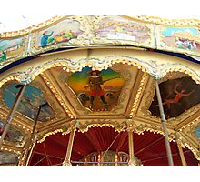 Carousel Artwork 2 Photographic Print