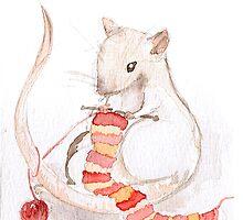 Fibre Rats I - Knitting by rotem