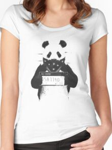 Bad panda Women's Fitted Scoop T-Shirt