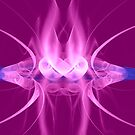 Pink flame by RosiLorz