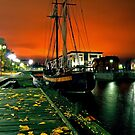Oulu's small harbour by sautio