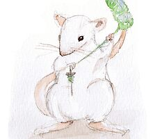 Fibre Rats III - Spinning by rotem