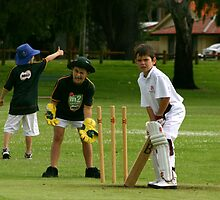 Junior cricket!! by wpmorro