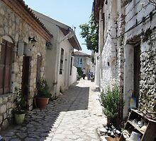 The Cobbled BackStreets Surrounding Old Marmaris  by taiche