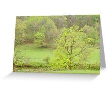 Pastel Spring In The Ozarks  Greeting Card