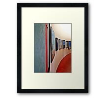 Dali Paintings Puzzle Framed Print