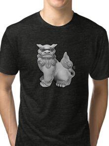 Shisa (left) Tri-blend T-Shirt