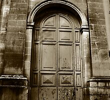 Church Door by Christian  Zammit