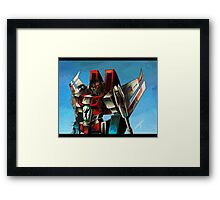 starscream Framed Print
