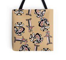 Northwest Native American Art Pattern Tote Bag