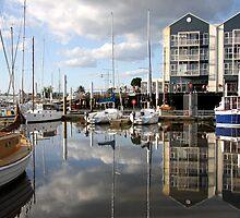 Living the Dream - Seaport Marina, Launceston, Tasmania by Ruth Durose