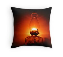 A lamp unto their feet Throw Pillow