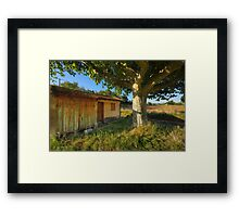 Cabanon in Provence Framed Print