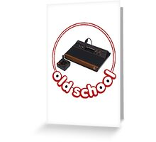 Atari Greeting Card