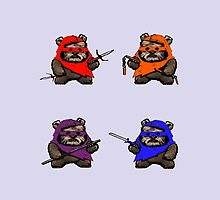 "TEENAGE MUTANT NINJA EWOKS ""TMNE"" by greatbritton99"