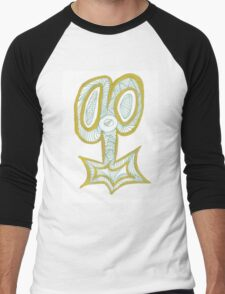 Key to the Scissors Men's Baseball ¾ T-Shirt