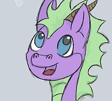 Yo! Happy Dragon by Kursedfire