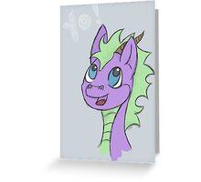 Yo! Happy Dragon Greeting Card