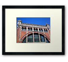 Power Station Façade, Malmo, Sweden Framed Print