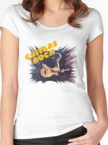 Guitars Rock Women's Fitted Scoop T-Shirt
