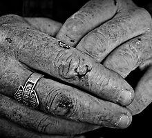 Working class hands by Karen Tregoning